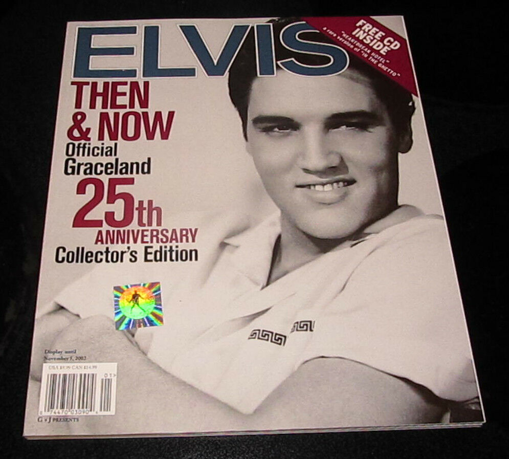 Elvis presley then amp now 25th anniversary collector s edition ebay - Elvis Presley King Of Rock N Roll Then Now Official Graceland 25th Edition Ebay