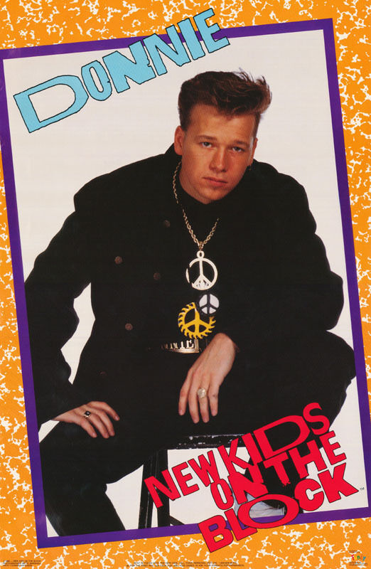 POSTER : MUSIC: NEW KIDS ON THE BLOCK - DONNIE - FREE SHIP ...