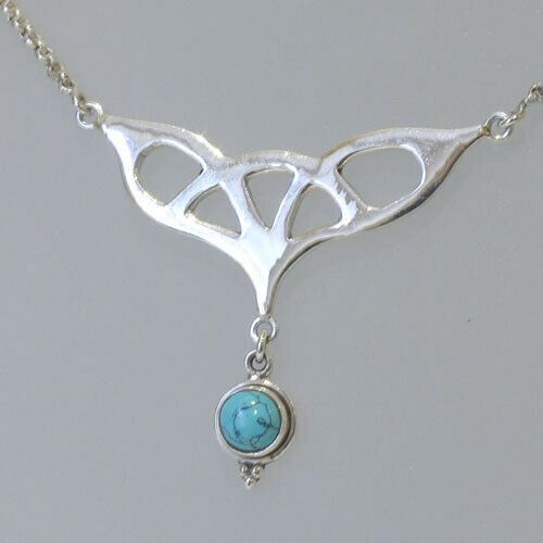 turquoise and sterling silver pendant necklace ebay