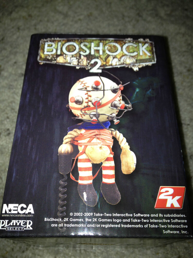 Doll da 2 Prop Figure Big Plush Daddy Little Neca Bioshock Sisters KJ1lcF