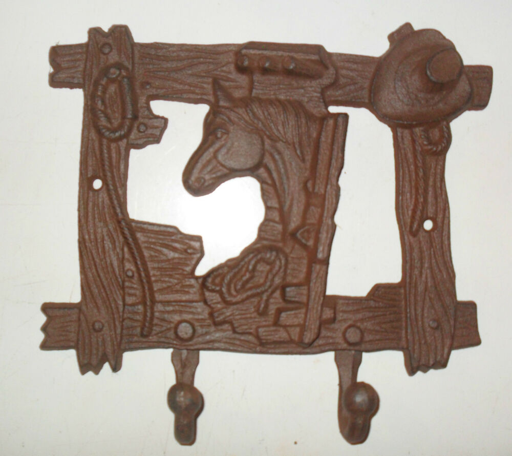 Horse Western Home D Cor Accessories Equestrian Themes: Rustic Western Decor HORSE Towel Holders HOOKS