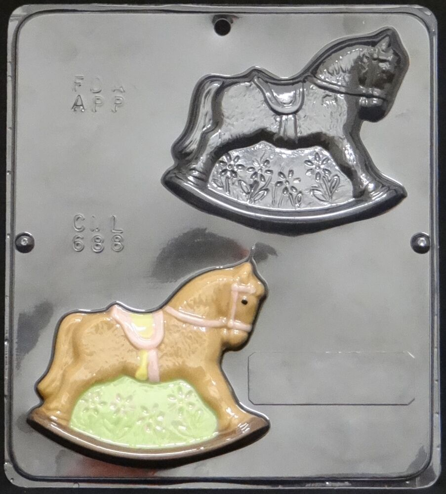 rocking horse chocolate candy mold baby shower 688 new ebay
