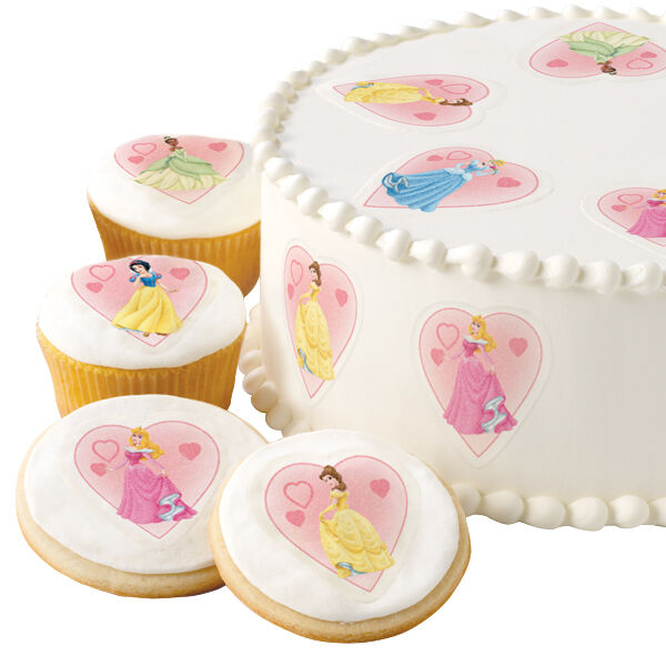 Wilton disney princess dessert designs edible cake for How to make edible cake decorations at home