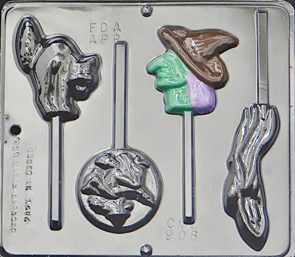 Halloween assortment lollipop chocolate candy mold - What to do about mold ...