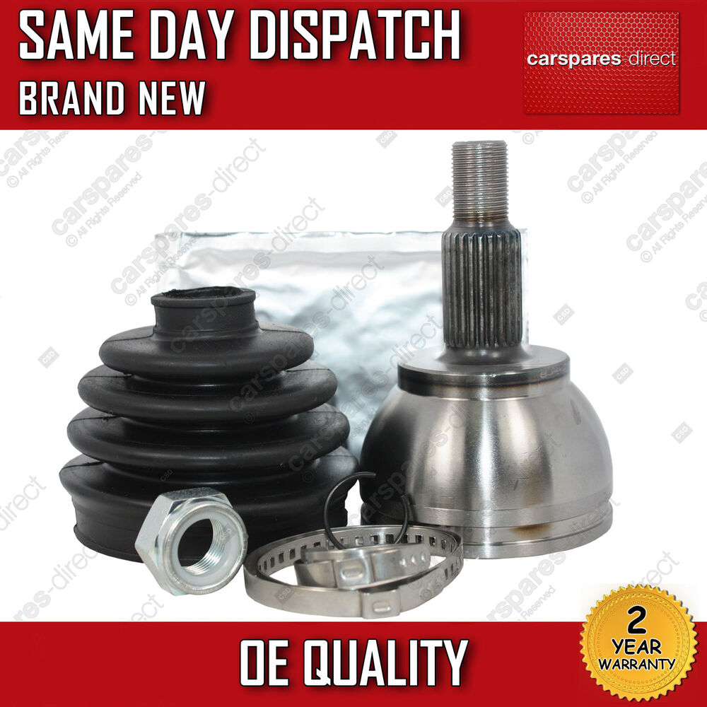 mercedes benz a class w169  u0026 b class w245 driveshaft outer cv joint kit