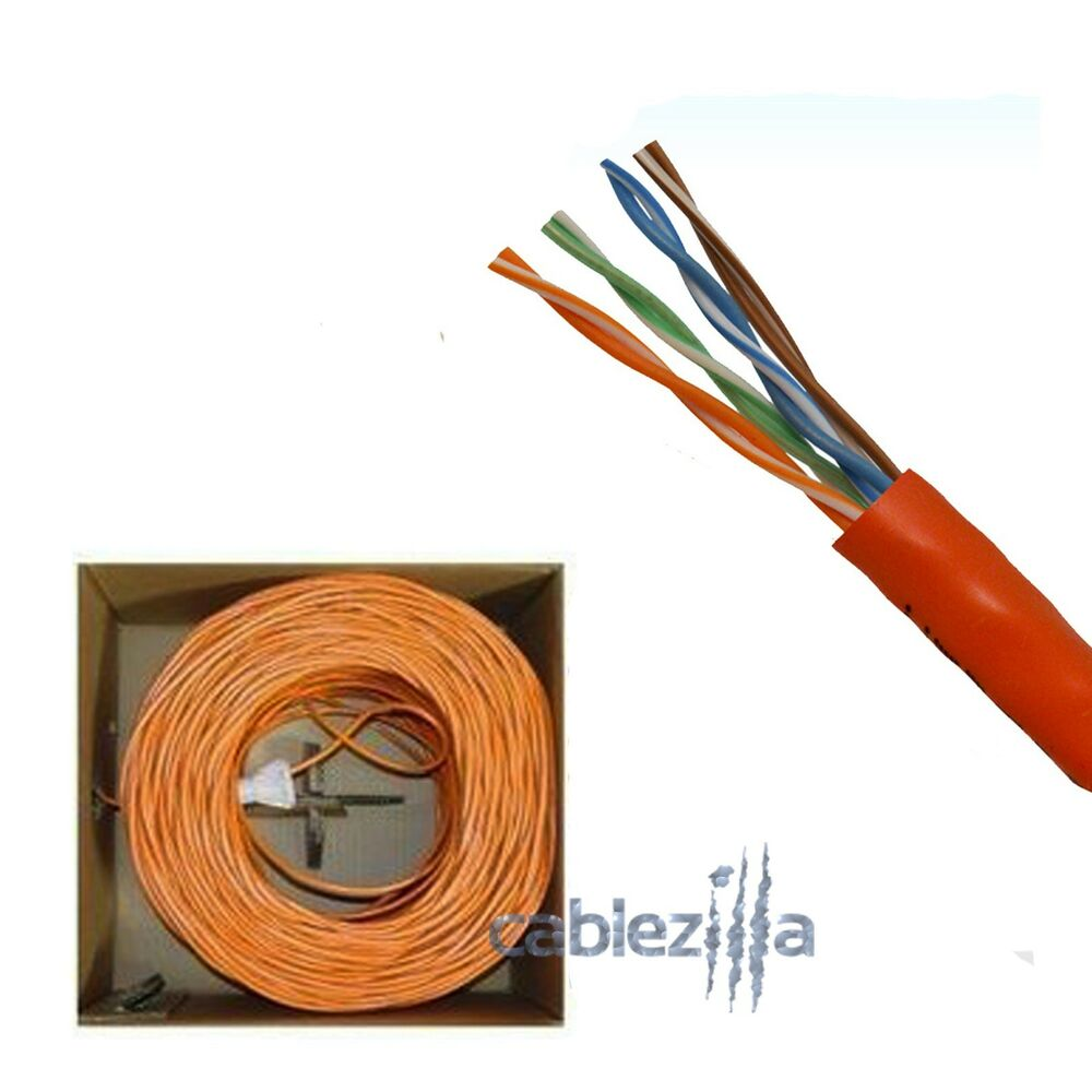 utp cable wiring cat5e 1000ft24awg utp solid orange network ethernet cable speakon cable wiring diagram jacks