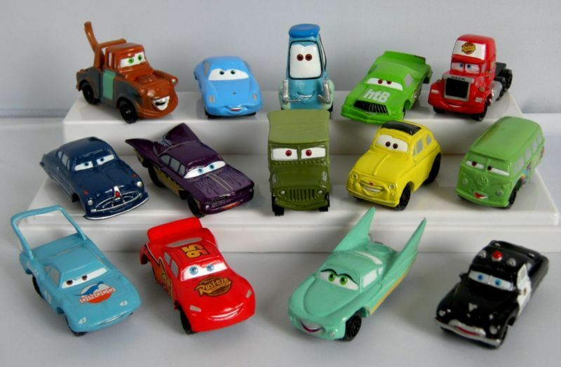 set of 14 pixar cars full family pvc mini figure toys. Black Bedroom Furniture Sets. Home Design Ideas