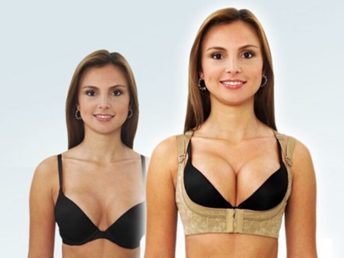 40ac3c7a7 Details about Push-up Magic Bra Shaper Vest Bust up Breast Support Sexy Bra  Support Lingerie L