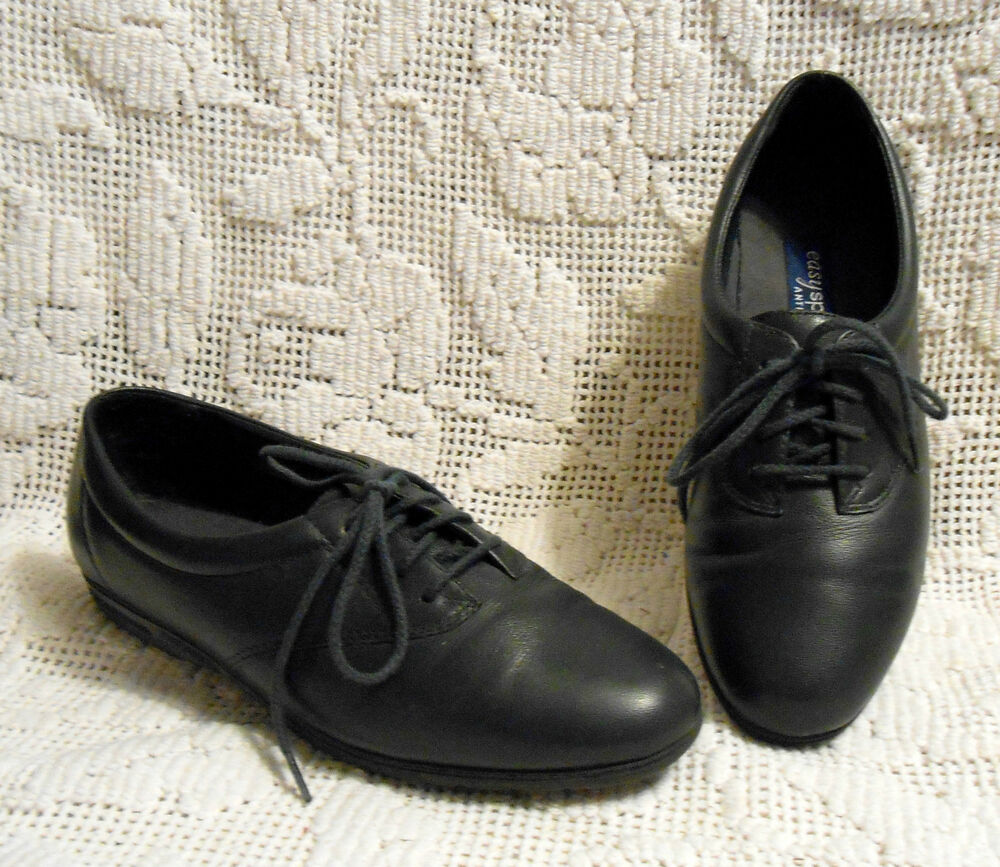 easy spirit motion womens size 6 5 b aa navy leather