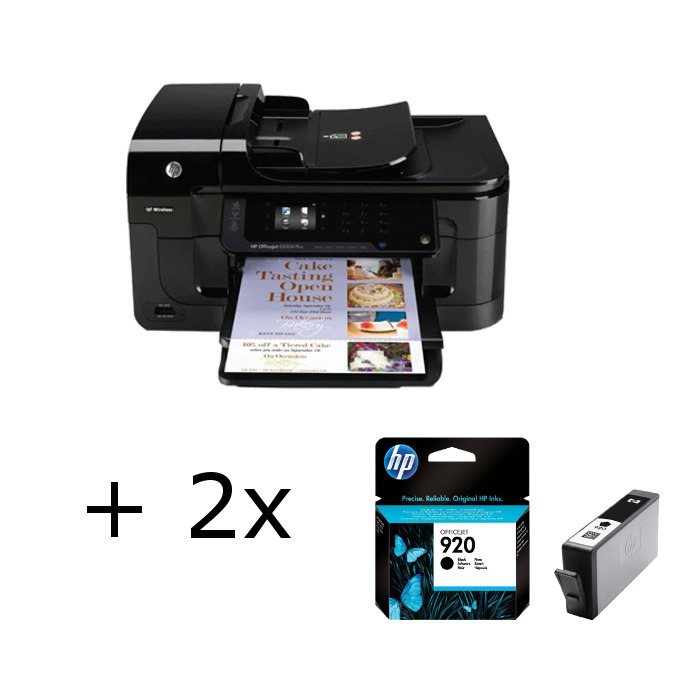 hp officejet 6500a plus e710n cn557a drucker scanner. Black Bedroom Furniture Sets. Home Design Ideas
