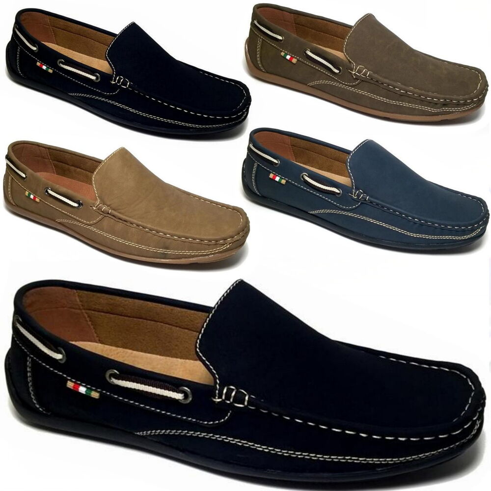luxus mokassins herren slipper superoptik bequeme boots schuhe 43 44 45 46 m25 ebay. Black Bedroom Furniture Sets. Home Design Ideas