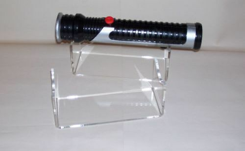 acrylic perspex star wars lightsaber display stand ebay. Black Bedroom Furniture Sets. Home Design Ideas