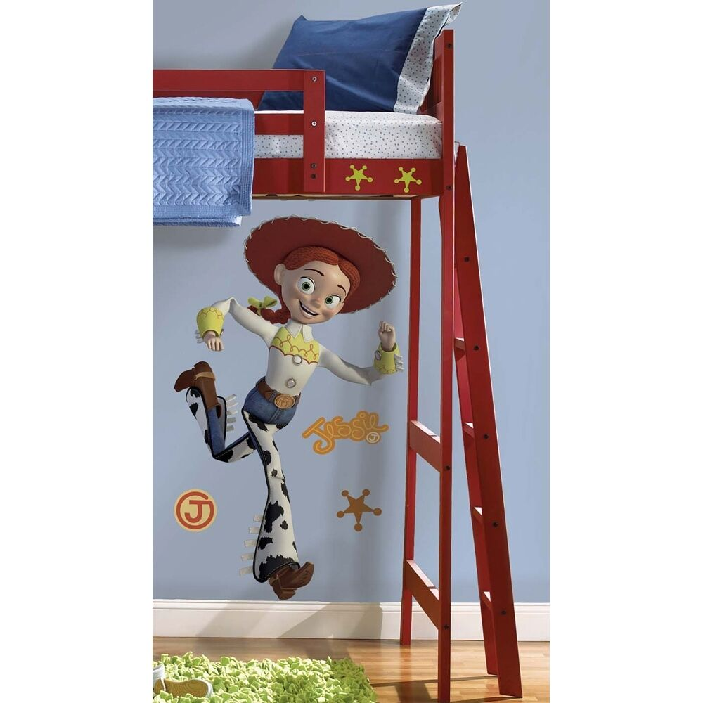 """Giant 46"""" JESSIE WALL DECALS Toy Story Cowgirl Room ..."""