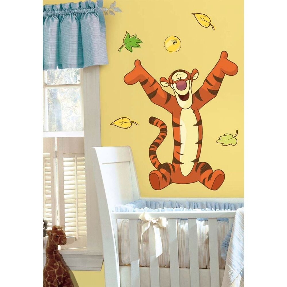 Disney Tigger Giant 31 Quot Wall Stickers Winnie The Pooh Room