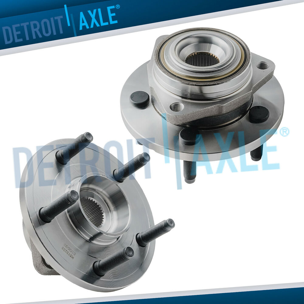 Front Wheel Bearing Hub Assy Pair For 2005