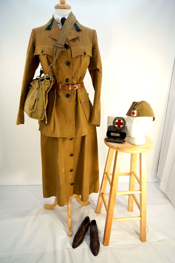 Women S Wwi Red Cross Motor Corps Uniform Jacket Skirt