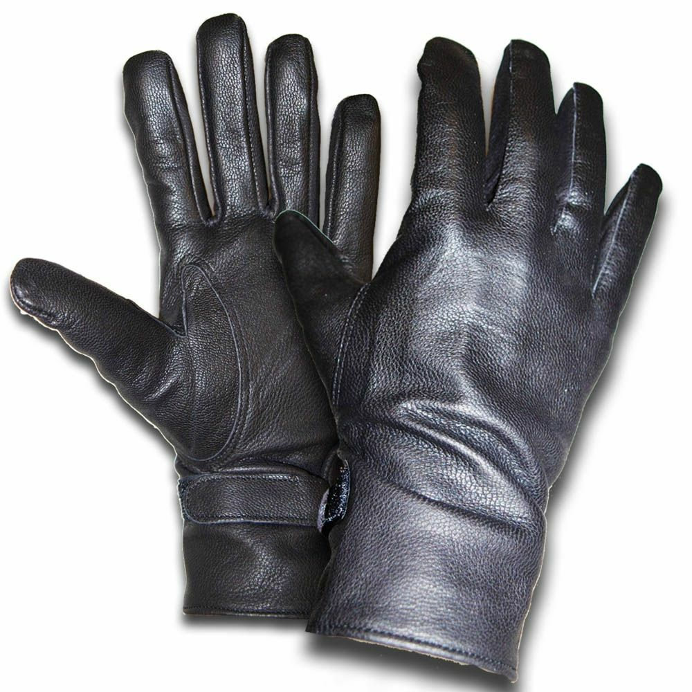 New Leather Gloves French Army Surplus
