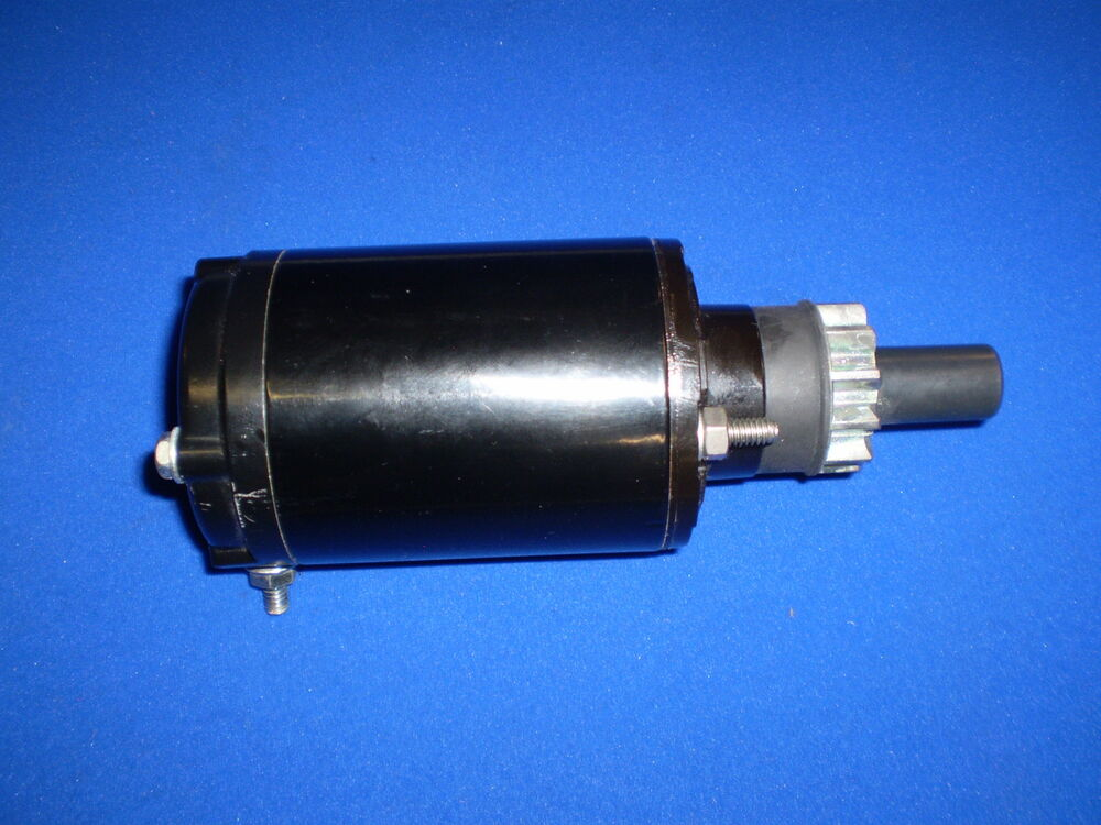 0585061 0586278 evinrude johnson starter motor 20 30hp s for 55 johnson outboard motor
