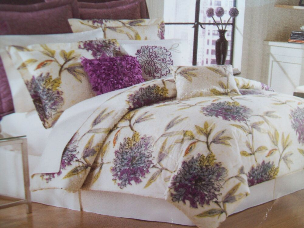 Comforter Set Malta Floral 8 Piece King Size From Bed