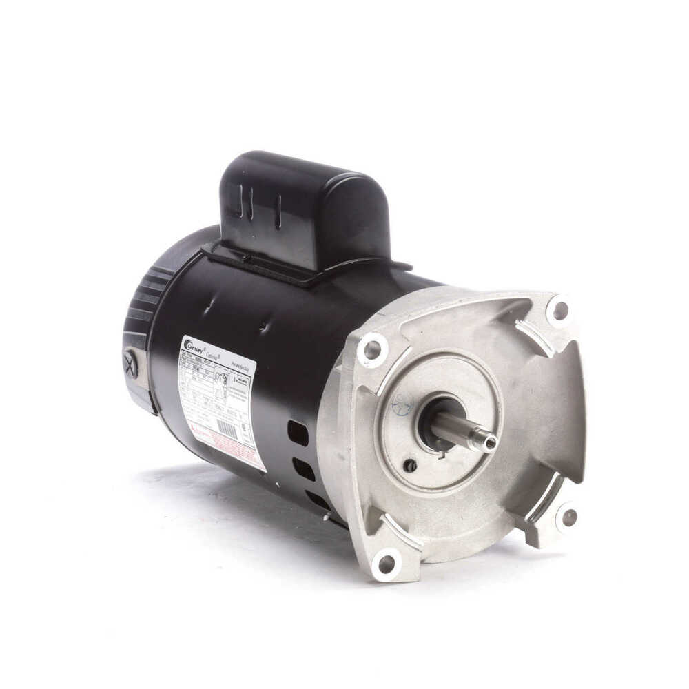 2 5 Hp 3450 Rpm 56y Frame 230v Square Flange Pool Motor