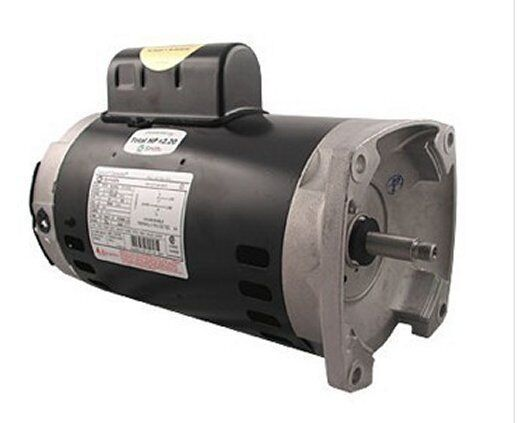 1 5 hp 3450 rpm 56y frame 208 230v square flange pool for Ao smith 1 5 hp pool pump motor