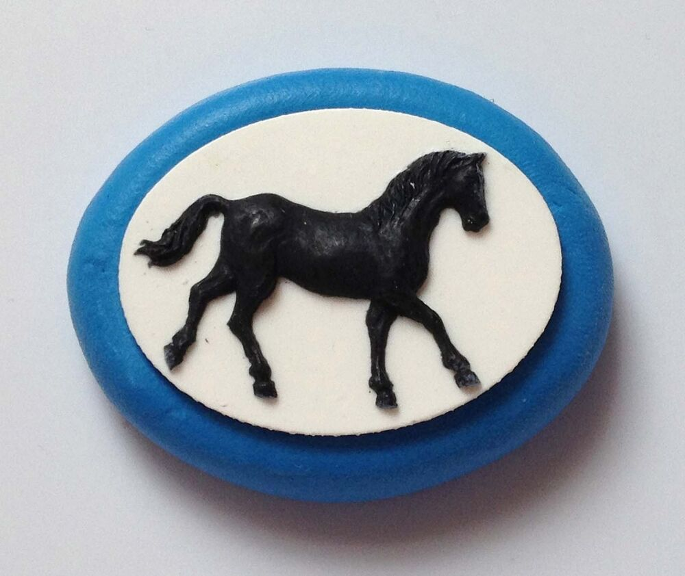 Horse 2 Silicone Mould Cupcake Cake Decorating Toppers ...