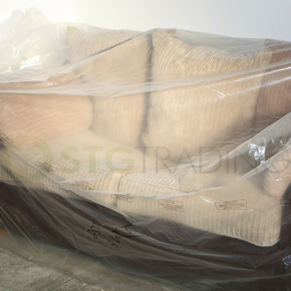 Chair Sofa Cover Storage Furniture Bags Plastic 4 Sizes To