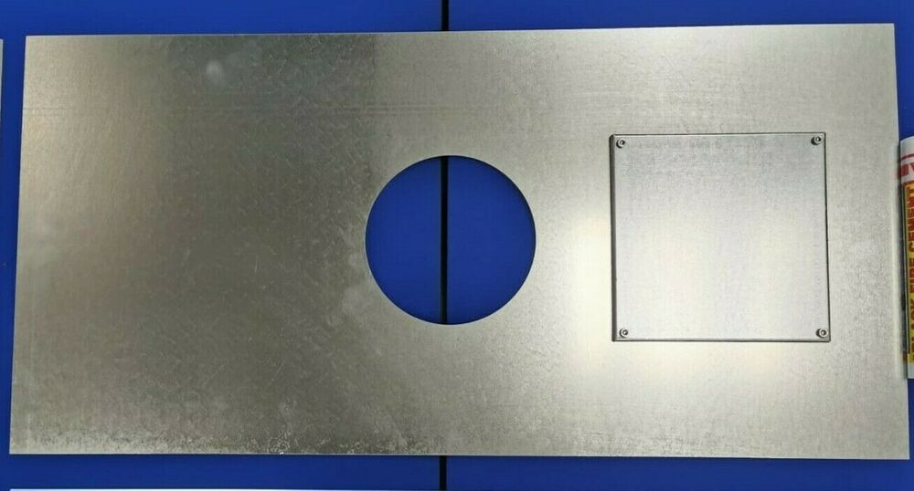 Stove Register Plate Wood Burning Closure Sweeping