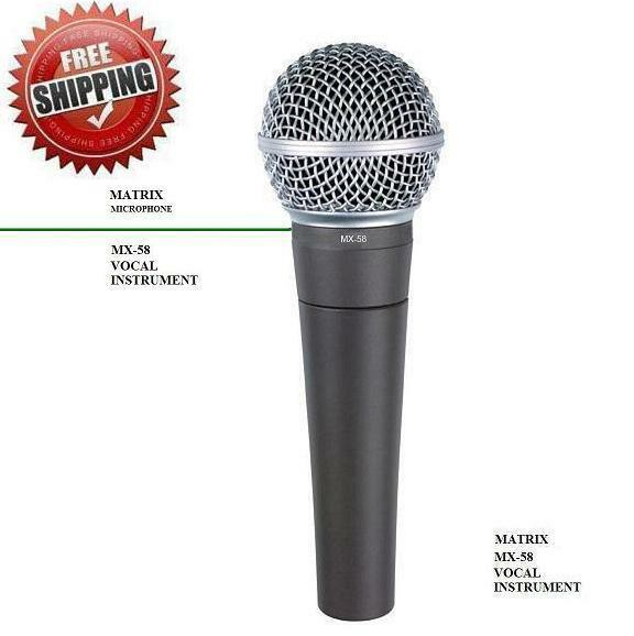 mx58 dynamic vocal mic sm 58 type free mic cord mc58 free shipping 647514475773 ebay. Black Bedroom Furniture Sets. Home Design Ideas