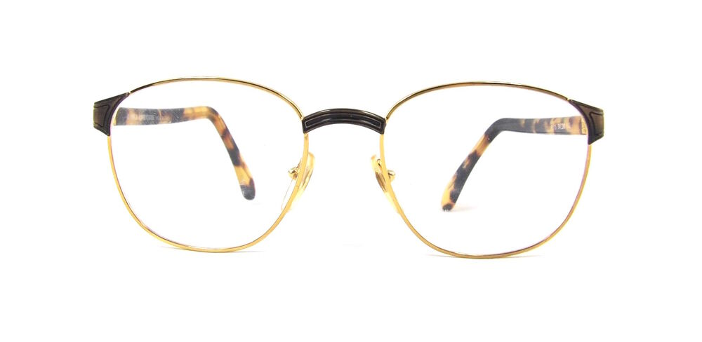 Men s European Eyeglass Frames : New Mens Alaska Adventure 75 Gold Tortoise European ...