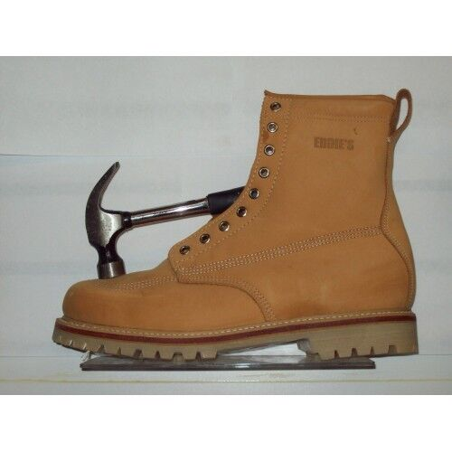 Eddie's Land Rover Square Toe Work Boots Size 11.5 EE