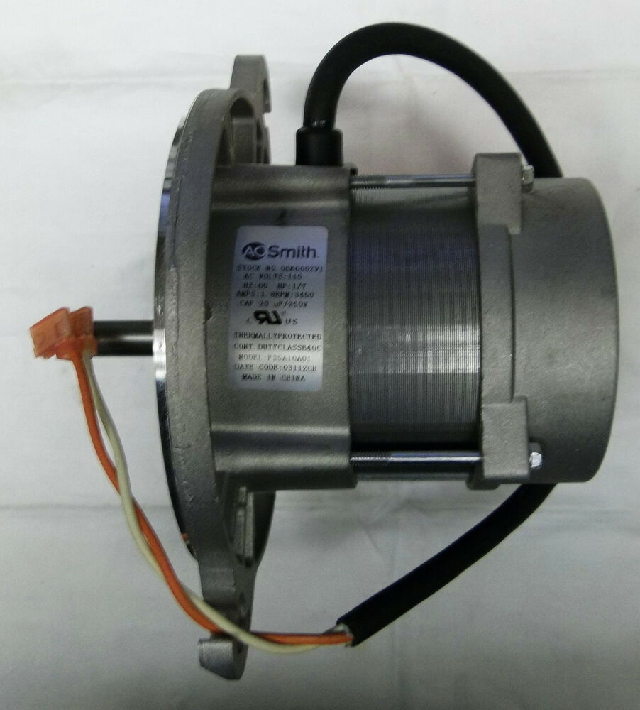 A o smith obk6002v1 1 7 hp 3400 rpm replacement oil burner for Ao smith furnace motors