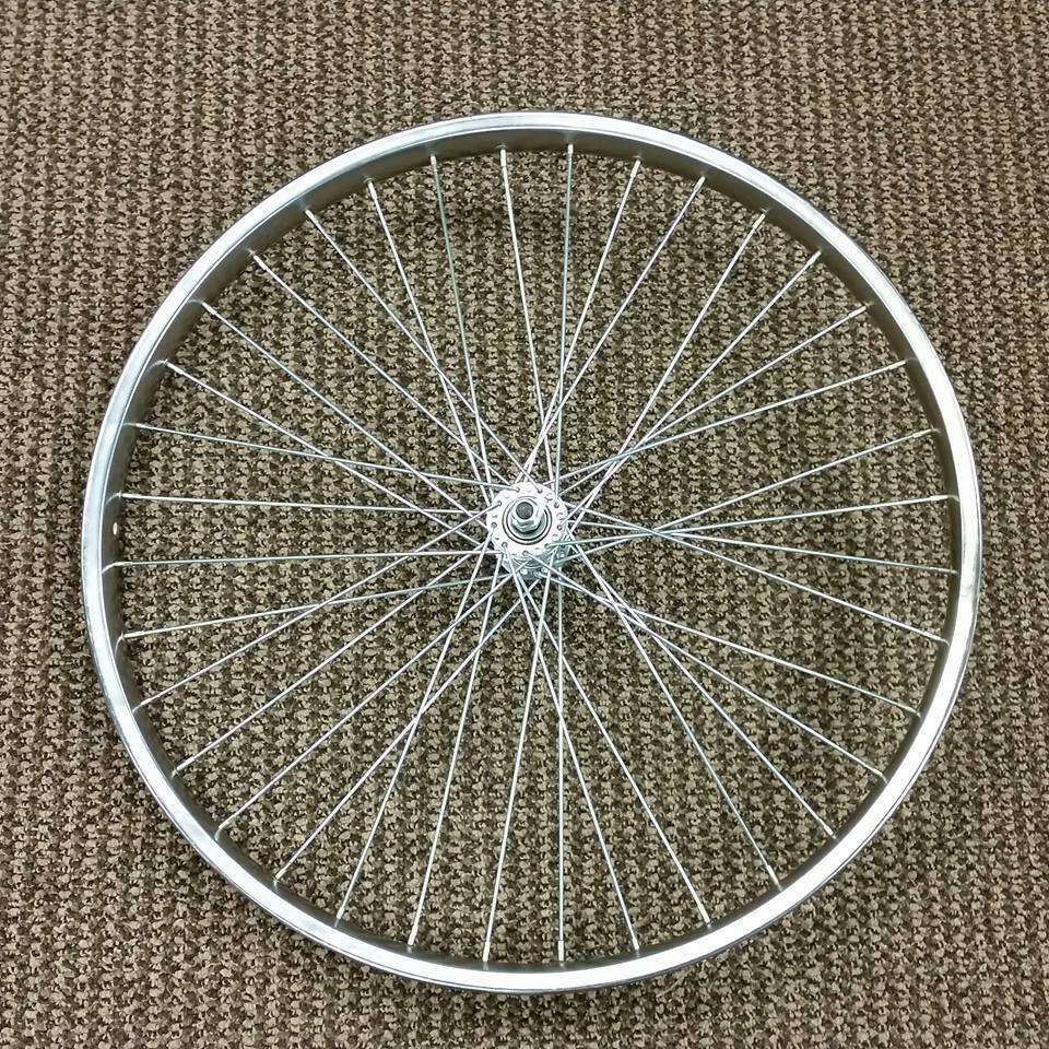 Bicycle front wheel 26 x sears murray schwinn others for Bicycle rims