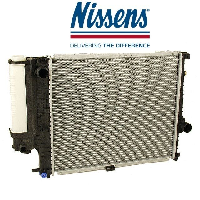 Radiator With Coolant Tank For Manual Transmission For E34