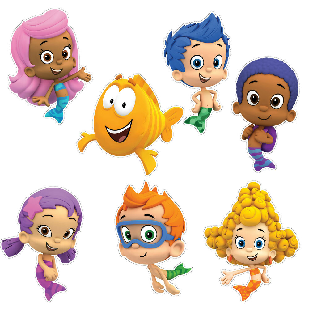 The gallery for bubble guppies wall decals - Bubulles guppies ...