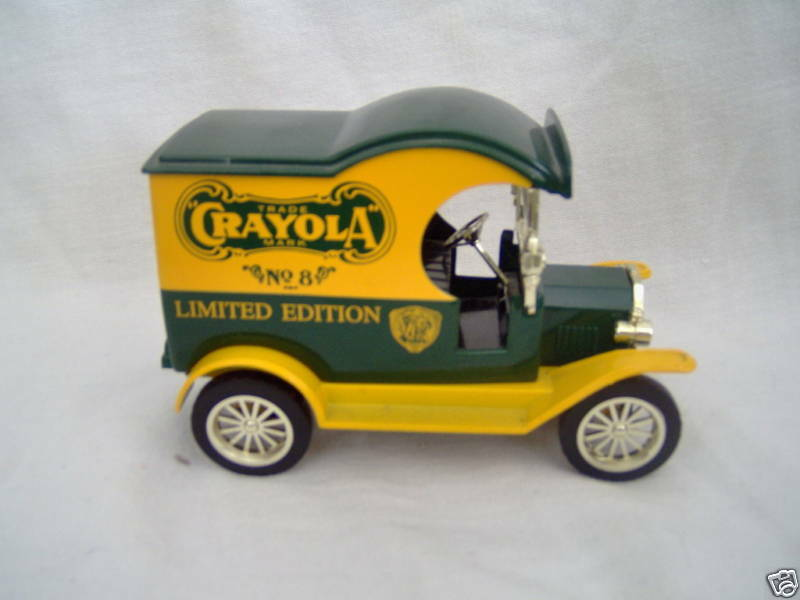 Ford Crayola Delivery Car