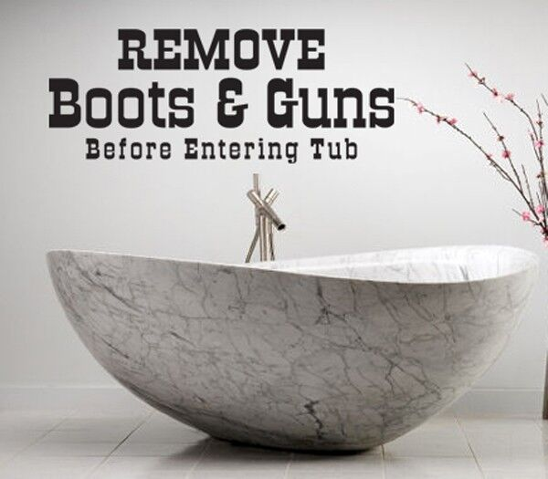 Bathroom Tub Decals