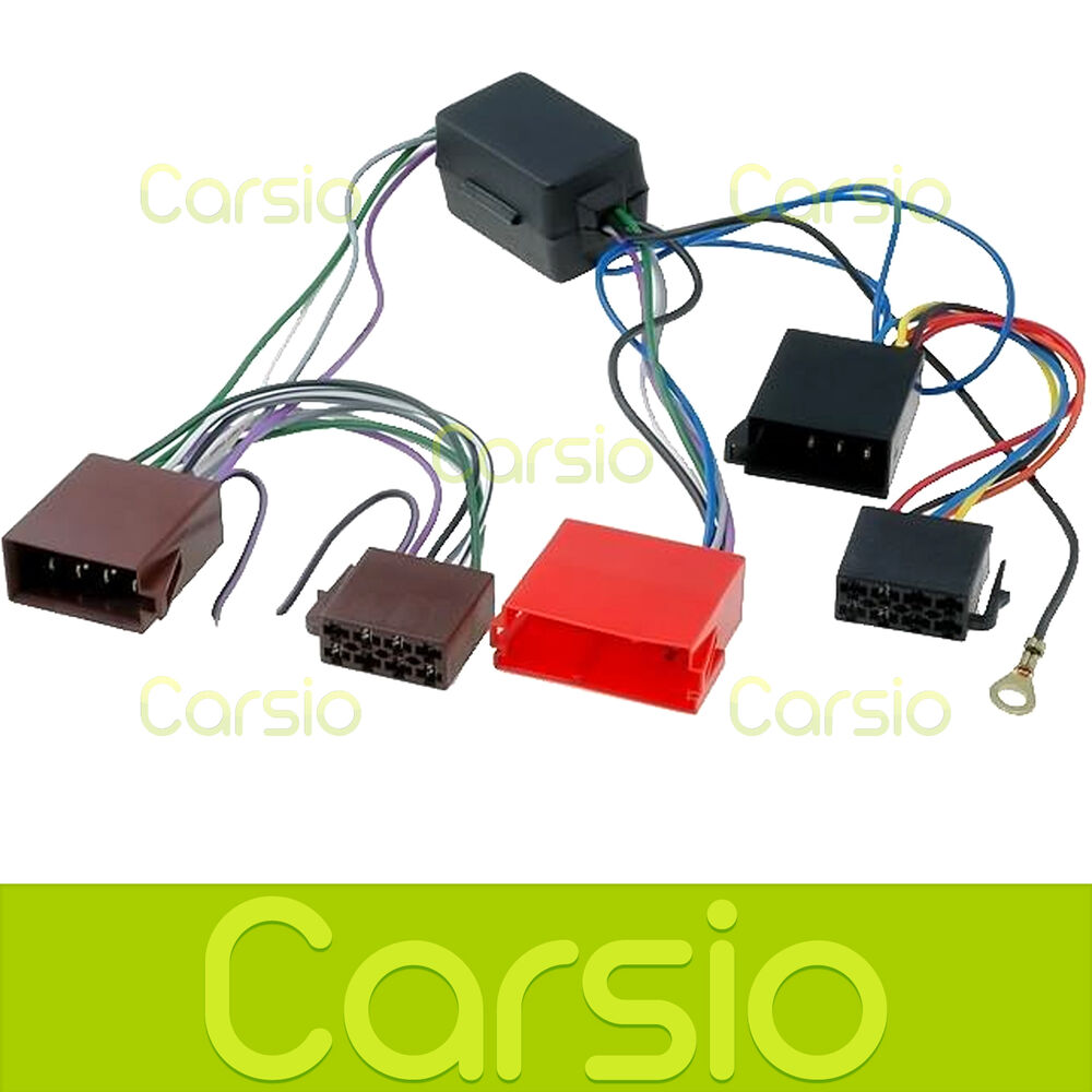 Audi A3 Amplified Iso Lead Wiring Harness Connector Stereo Radio Car For Adaptor Pc9 401 5032296094017 Ebay