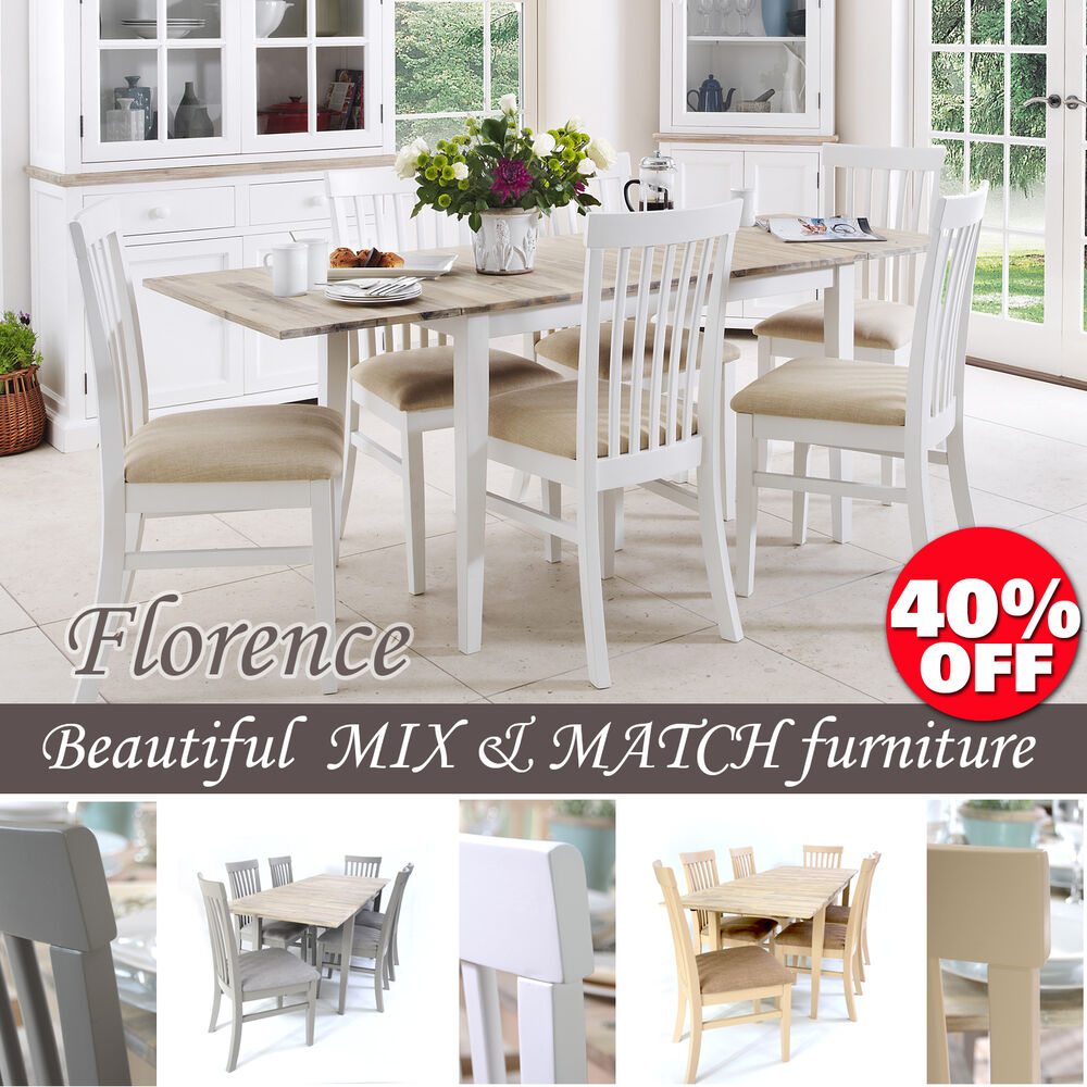 FLORENCE, Stunning Rectangle Extended Kitchen Dining Table