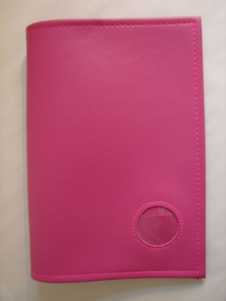 Cookbook Holder With Cover : Alcoholics anonymous aa hard back big book plain pink