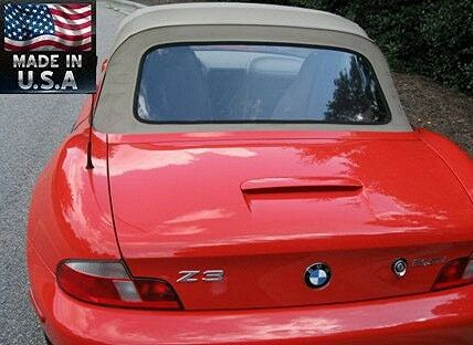 Bmw Z3 M Roadster Convertible Tinted Plastic Rear Window