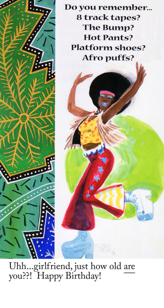 Happy Birthday Niece Images African American ~ African american greeting cards birthday pkg b ebay