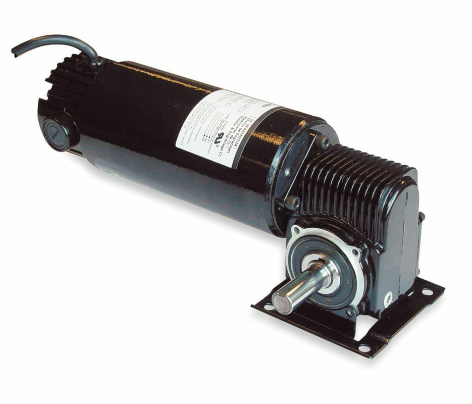 Dayton model 3xa78 dc gear motor 180 rpm 1 8 hp tenv 90vdc for 1 20 hp electric motor