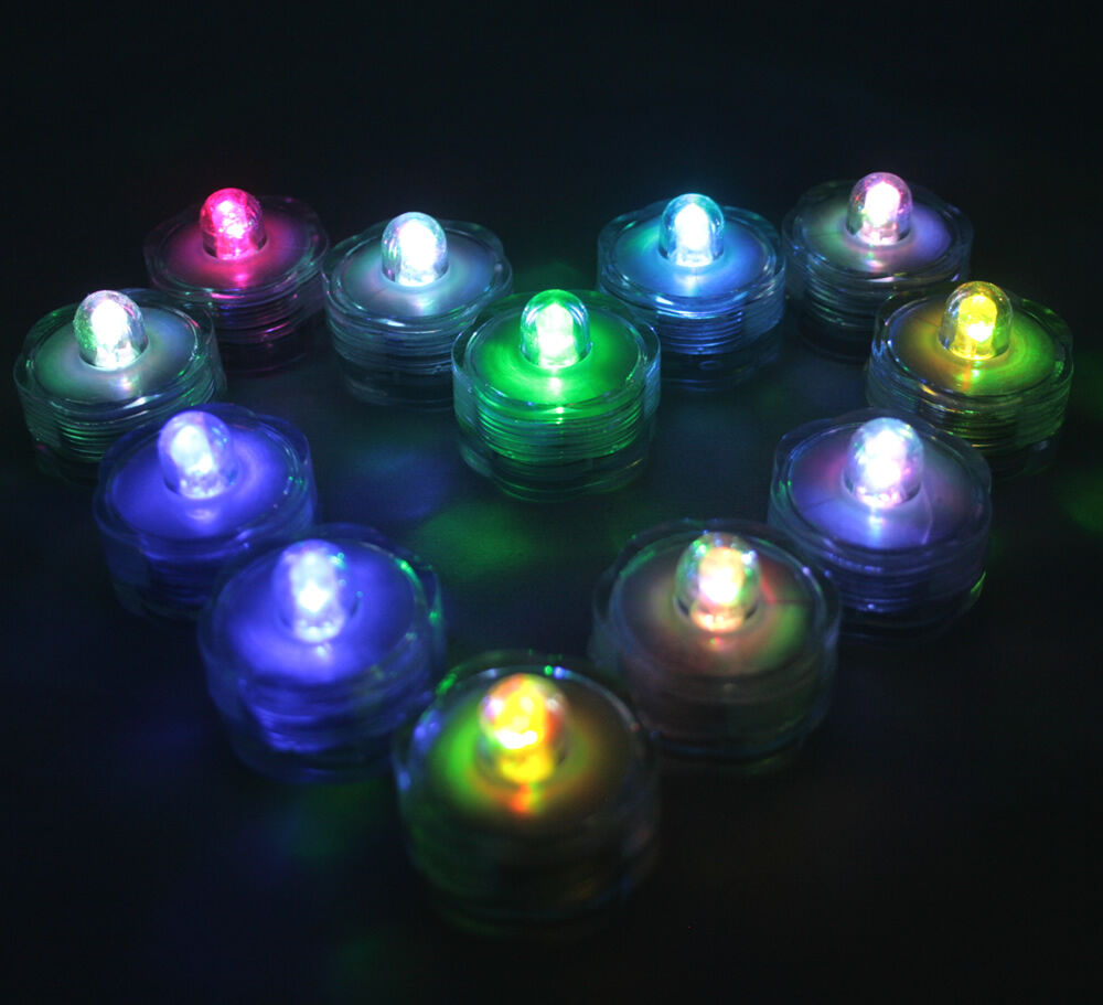 48 Multi Color Change Led Submersible Wedding Waterproof