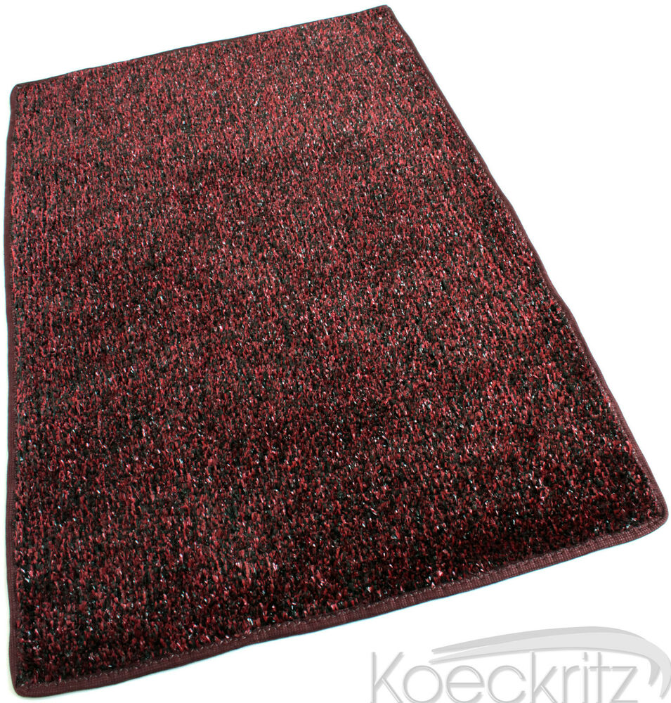 Beaulieu indoor outdoor red black artificial grass turf for Indoor out door rugs