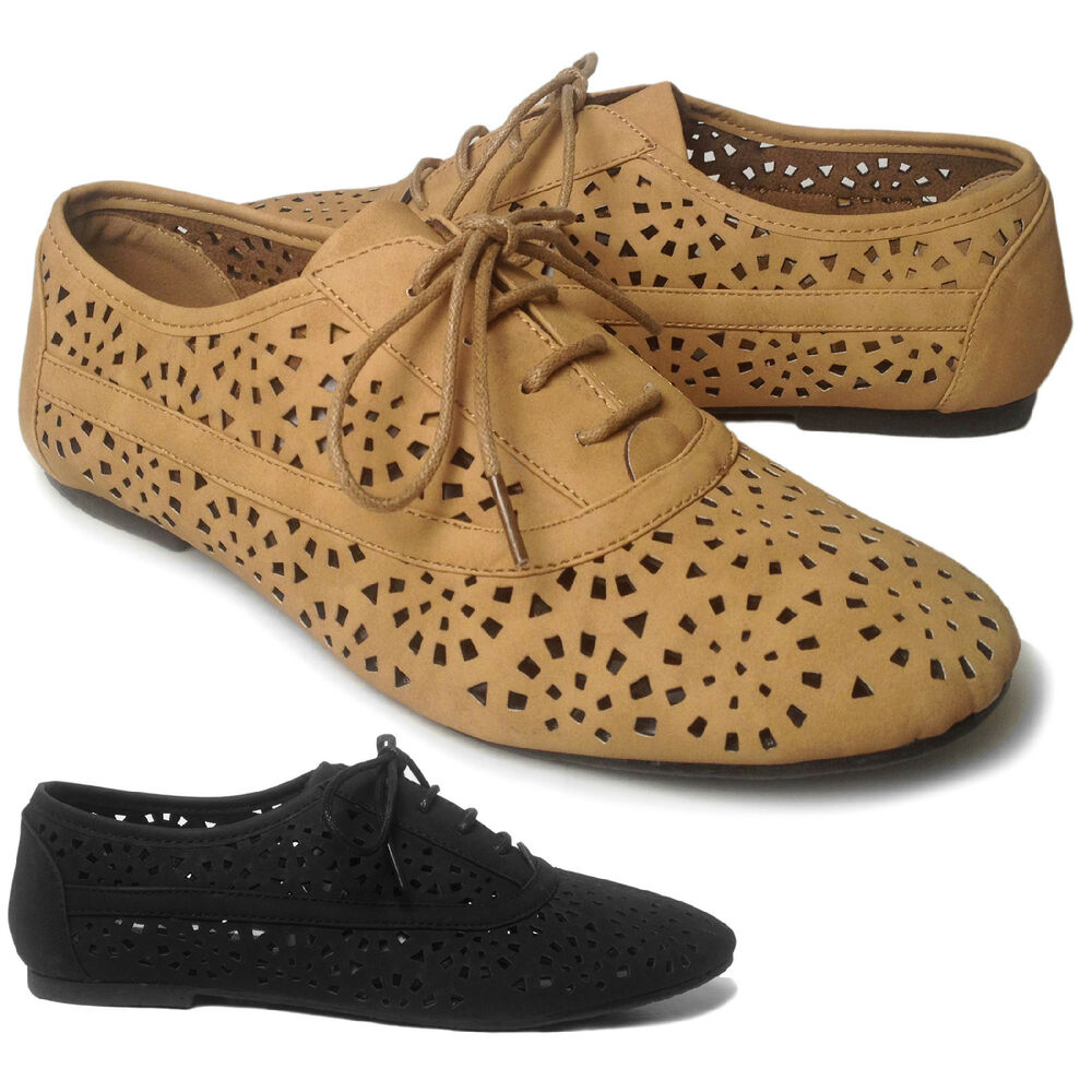 Cute Flat Oxford Shoes