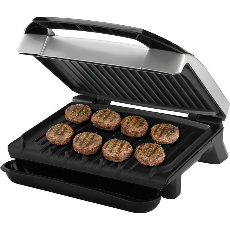 Large Electric Grill ~ George foreman quot variable temp electric grill indoor