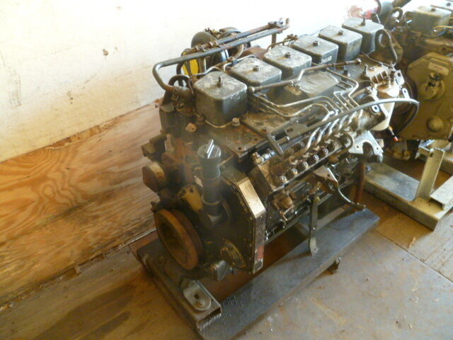 98 Cummins Diesel Engine 5 9l 5 9 Bt Inline Pump 12 Valve 215 H P  Factory Rated