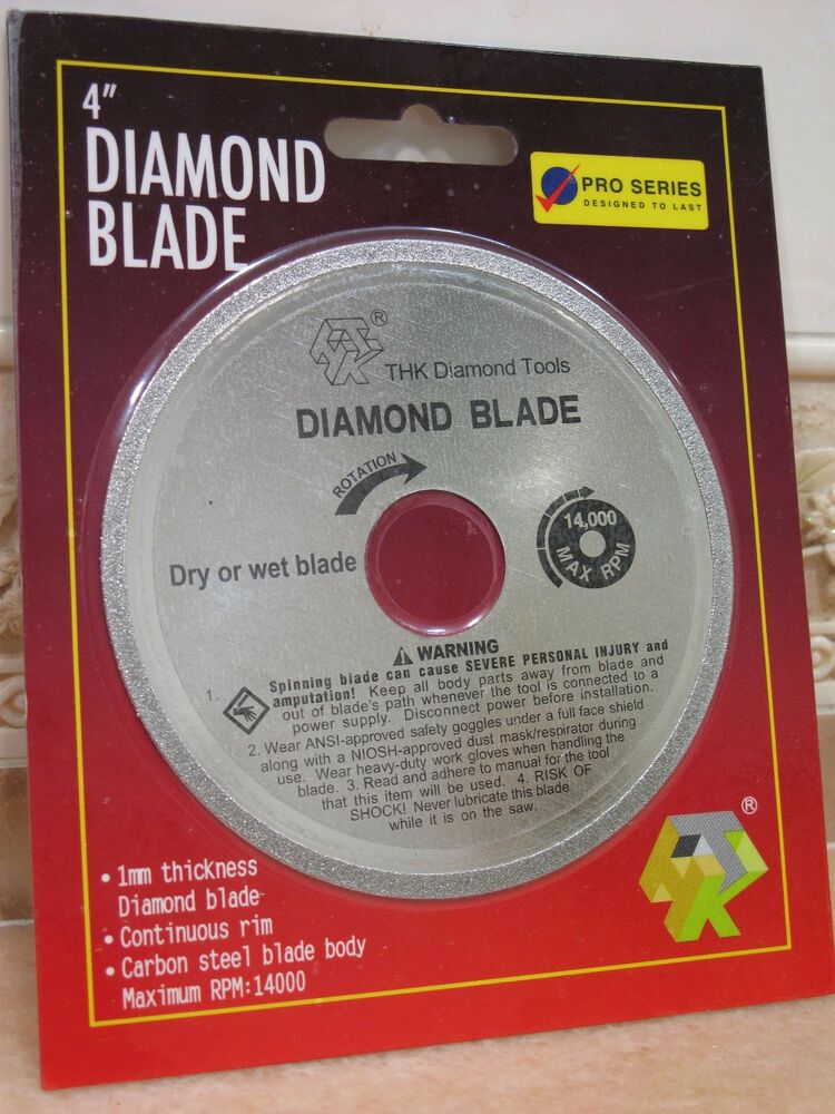 100mm 4 Quot Thk Diamond Cutting Blade Glass Table Saw Disc