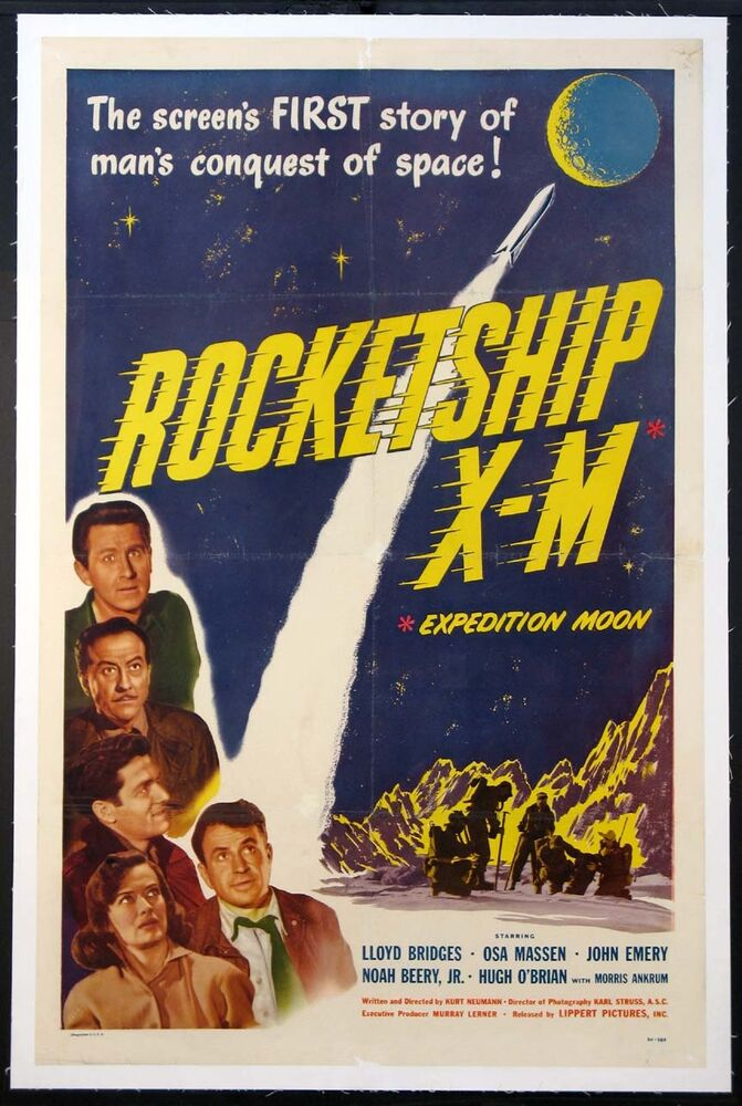 ROCKETSHIP X-M EARLY OUTER SPACE SCIENCE FICTION 1950 ...